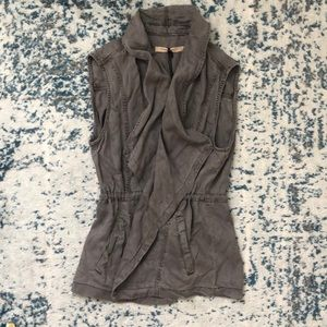 Gray Utility Vest by Max Jeans